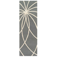 Surya FM7173-312 Forum 144 X 36 inch Gray and Neutral Runner, Wool photo thumbnail