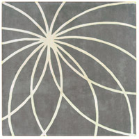 Surya FM7173-6SQ Forum 72 X 72 inch Gray and Neutral Area Rug, Wool photo thumbnail