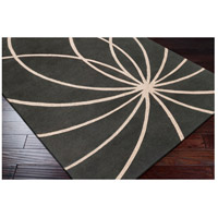 Surya FM7173-4RD Forum 48 inch Gray and Neutral Area Rug, Wool alternative photo thumbnail