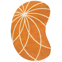 Surya FM7175-69KDNY Forum 108 X 72 inch Orange and Neutral Area Rug, Wool photo thumbnail