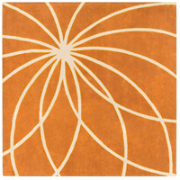 Surya FM7175-8SQ Forum 96 X 96 inch Orange and Neutral Area Rug, Wool photo thumbnail