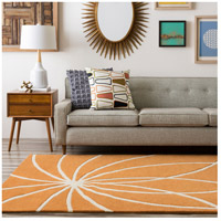 Surya FM7175-6SQ Forum 72 X 72 inch Orange and Neutral Area Rug, Wool alternative photo thumbnail