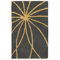 Surya FM7181-23 Forum 36 X 24 inch Yellow and Gray Area Rug, Wool photo thumbnail