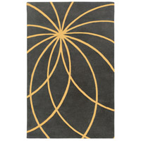 Surya FM7181-69 Forum 108 X 72 inch Yellow and Gray Area Rug, Wool photo thumbnail