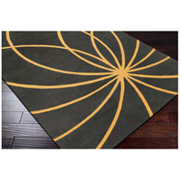 Surya FM7181-6RD Forum 72 inch Yellow and Gray Area Rug, Wool alternative photo thumbnail