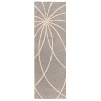 Surya FM7184-268 Forum 96 X 30 inch Gray and Neutral Runner, Wool photo thumbnail