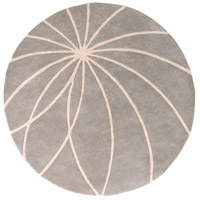 Surya FM7184-6RD Forum 72 inch Gray and Neutral Area Rug, Wool photo thumbnail