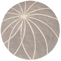 Surya FM7184-4RD Forum 48 inch Gray and Neutral Area Rug, Wool photo thumbnail