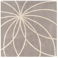 Surya FM7184-4SQ Forum 48 X 48 inch Gray and Neutral Area Rug, Wool photo thumbnail