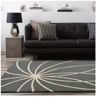 Surya FM7184-4SQ Forum 48 X 48 inch Gray and Neutral Area Rug, Wool alternative photo thumbnail