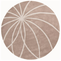 Surya FM7185-6RD Forum 72 inch Neutral and Neutral Area Rug, Wool photo thumbnail