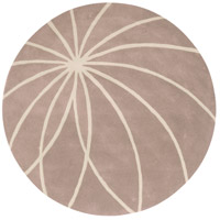 Surya FM7185-4RD Forum 48 inch Neutral and Neutral Area Rug, Wool photo thumbnail