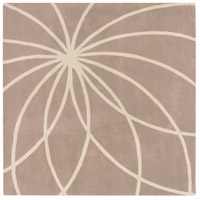 Surya FM7185-4SQ Forum 48 X 48 inch Neutral and Neutral Area Rug, Wool photo thumbnail