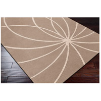 Surya FM7185-4SQ Forum 48 X 48 inch Neutral and Neutral Area Rug, Wool alternative photo thumbnail