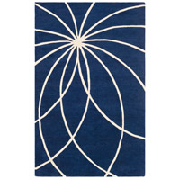 Surya FM7186-46 Forum 72 X 48 inch Blue and Neutral Area Rug, Wool photo thumbnail