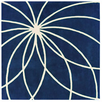 Surya FM7186-99SQ Forum 117 X 117 inch Blue and Neutral Area Rug, Wool photo thumbnail