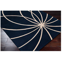 Surya FM7186-4RD Forum 48 inch Blue and Neutral Area Rug, Wool alternative photo thumbnail