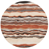 Surya FM7192-4RD Forum 48 inch Brown and Neutral Area Rug, Wool photo thumbnail