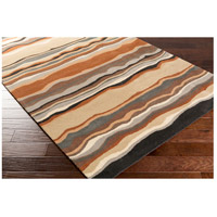 Surya FM7192-312 Forum 144 X 36 inch Brown and Neutral Runner, Wool alternative photo thumbnail