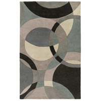 Surya FM7193-1014 Forum 168 X 120 inch Neutral and Blue Area Rug, Wool photo thumbnail