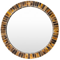 Farmington Brown Wall Mirror Home Decor