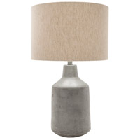 Surya FMN100-TBL Foreman 25 inch 100 watt Painted Table Lamp Portable Light photo thumbnail