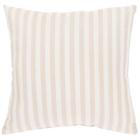Surya FN004-1616 Finn 16 X 16 inch Khaki and White Outdoor Throw Pillow photo thumbnail