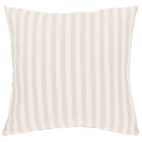 Surya FN004-1616 Finn 16 X 16 inch Khaki and White Outdoor Throw Pillow alternative photo thumbnail