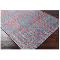 Surya FNT1000-23 Florentine 36 X 24 inch Blue and Gray Area Rug, Viscose alternative photo thumbnail