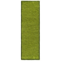 Surya FNY3001-268 Finley 96 X 30 inch Green and Green Runner, Polyester photo thumbnail