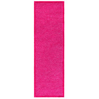 Surya FNY3003-268 Finley 96 X 30 inch Pink and Red Runner, Polyester photo thumbnail