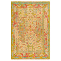 Surya FVL1000-69 Festival 108 X 72 inch Green and Blue Area Rug, Wool photo thumbnail