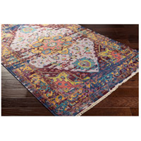 Surya FVL1004-69 Festival 108 X 72 inch Purple and Purple Area Rug, Wool alternative photo thumbnail