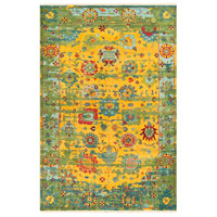 Surya FVL1005-913 Festival 156 X 108 inch Yellow and Green Area Rug, Wool photo thumbnail