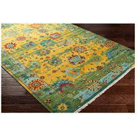 Surya FVL1005-913 Festival 156 X 108 inch Yellow and Green Area Rug, Wool alternative photo thumbnail