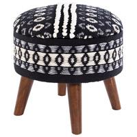 Surya GAN-001 Granna Black/N/A/White/Light Gray Furniture