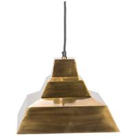 Surya GSN-001 Garrison 1 Light 12 inch Pendant Ceiling Light