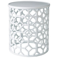 Surya HALE100-141416 Hale 14 inch White Accent Table