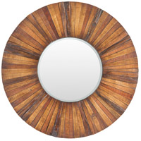 Hardy Brown Wall Mirror Home Decor