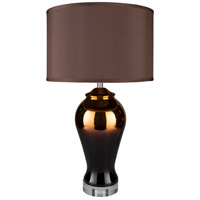 Surya HET-100 Heathman 30 inch 100 watt Electroplating Table Lamp Portable Light