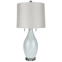 Surya HLD-001 Hilliard 31 inch 100 watt Light Gray Table Lamp Portable Light