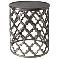 Surya HMMT101-161619 Hammett 17 inch Charcoal Accent Table