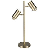 Surya HMO-001 Hammond 28 inch 40 watt Swing Arm Table Lamp Portable Light