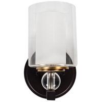 Surya HTO-001 Horatio 1 Light 6 inch Dark Brown Wall Sconce Wall Light