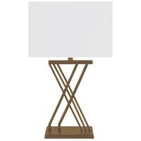 Surya HTY-001 Hartley 26 inch 60 watt Antiqued Table Lamp Portable Light