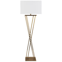 Surya HTY-003 Hartley 56 inch 60 watt Antiqued Floor Lamp Portable Light