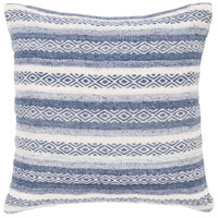 Surya IB003-2020 Isabella 20 X 20 inch Navy Pillow Cover, Square