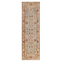 Adana 96 X 30 inch Neutral and Gray Runner, Wool