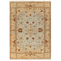 Adana 132 X 96 inch Neutral and Gray Area Rug, Wool