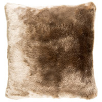 Innu 18 X 18 inch Camel Pillow Cover